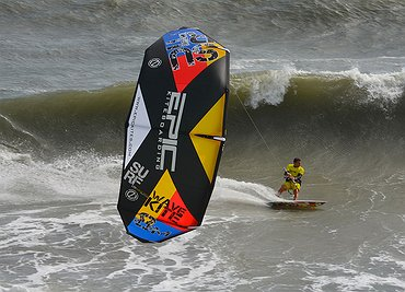SURF kite in action in OBX 2014