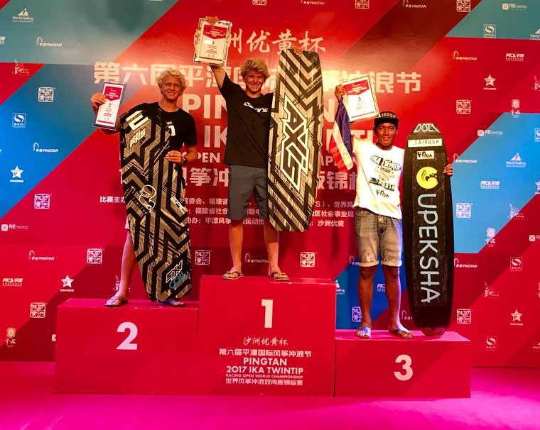 PINGTAN CHINA 2017 IKA TWINTIP: Racing Open World Championship