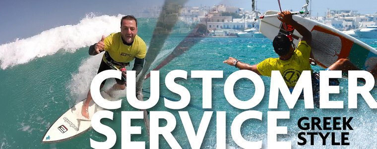 Customer Service – Greek style